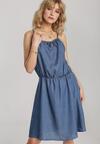 Niebieska Sukienka Lariris