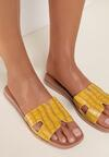 Żółte Klapki Morgabelle