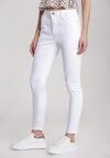 Białe Spodnie Skinny Larailena