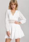Biała Sukienka Dorierian