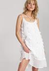 Biała Sukienka Clalenia