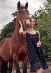 Czarna Sukienka Clalenia