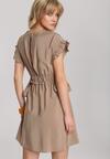 Beżowa Sukienka Jennidine