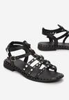 Czarne Sandały Talilei