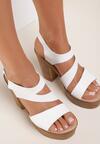 Białe Sandały Marimara