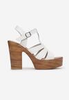 Białe Sandały Yanore