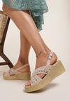 Beżowe Sandały Theresa