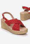 Czerwone Sandały Theresa
