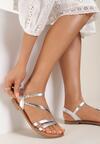 Srebrne Sandały Norma