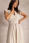 Jasnobeżowa Sukienka Gaffe