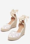 Białe Sandały Jennileh