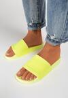 Żółte Neonowe Klapki Cordenore