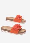 Pomarańczowe Klapki Amyliana