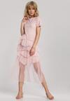 Jasnoróżowa Sukienka Laiwai