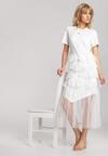 Biała Sukienka Laiwai
