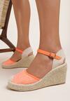 Pomarańczowe Sandały Corilane
