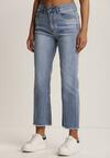 Niebieskie Jeansy Wide Leg Neametai
