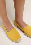 Żółte Espadryle Aurinda