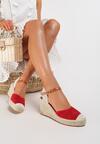 Czerwone Sandały Genily