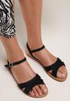 Czarne Sandały Auralise