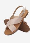 Beżowe Sandały Lope