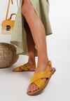 Żółte Sandały Lope