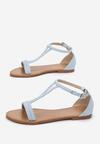 Jasnoniebieskie Sandały Arrieta