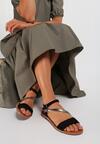 Czarne Sandały Narithia