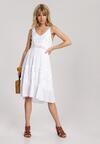 Biała Sukienka Thalaneva