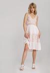 Różowa Sukienka Thalaneva