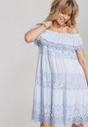 Jasnoniebieska Sukienka Deladina