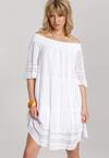 Biała Sukienka Adranassa