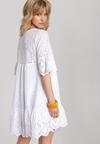 Biała Sukienka Adrierena