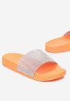Pomarańczowe Klapki Orio