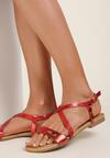 Czerwone Sandały Metionore