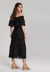 Czarna Sukienka Lagurian