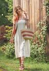Biała Sukienka Nearei