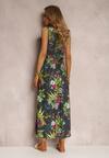 Granatowa Sukienka Tharia