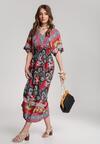 Czerwona Sukienka Cladelia