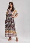 Beżowa Sukienka Cladelia