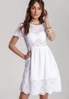 Biała Sukienka Adria