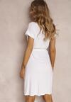 Biała Sukienka Veridiana