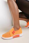 Pomarańczowe Buty Sportowe Palamia