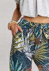 Miętowe Spodnie Merebelle