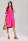 Różowa Sukienka Mirala