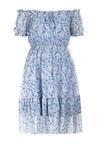 Jasnoniebieska Sukienka Oripise