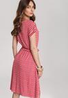 Czerwona Sukienka Aladoe