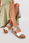 Białe Sandały Loreris