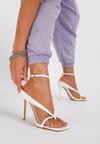 Białe Sandały Neridorise