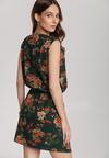Ciemnozielona Sukienka Auranoe